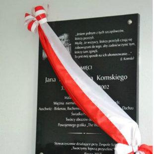 "Projekt ,,Jan Komski - Świadek Holokaustu"""